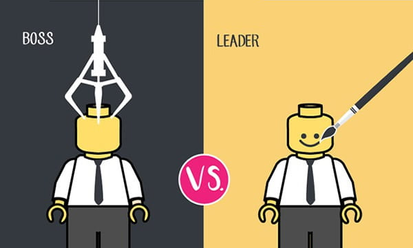 Leader Boss Image a Boss And a Leader 9gag