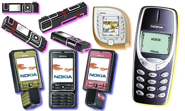 Stylish phones nokia