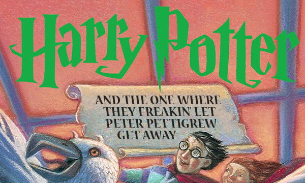 Harry Potter Book Titles : If harry potter book titles were honest gag