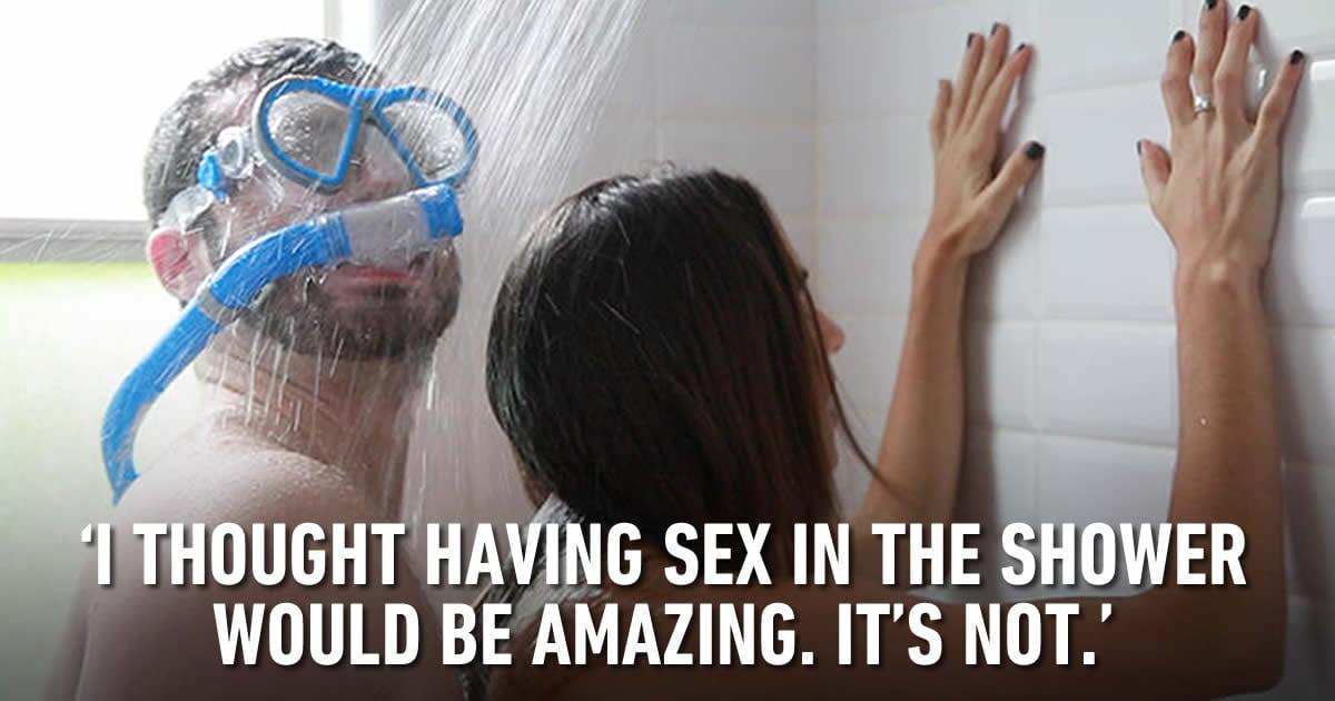 amazing blonde loves taking shower before having sex  445664
