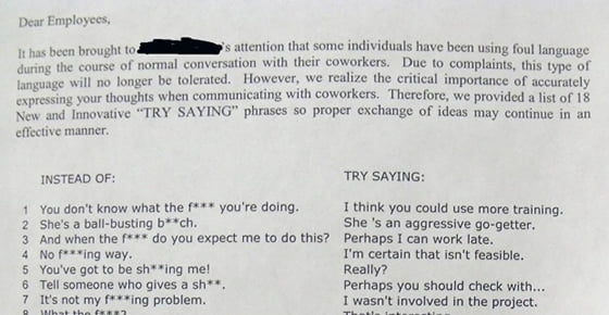 how to stop using foul language