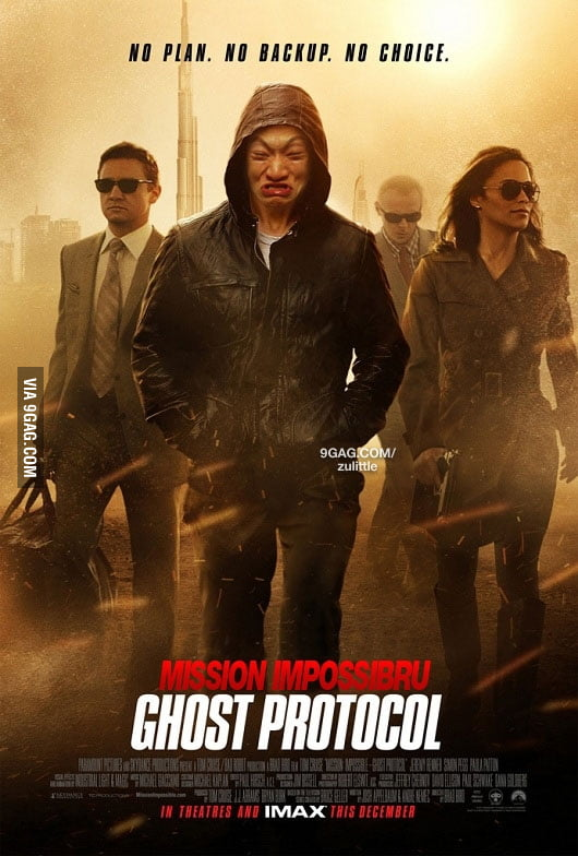 Mission Impossibru 4 - Ghost Protocol
