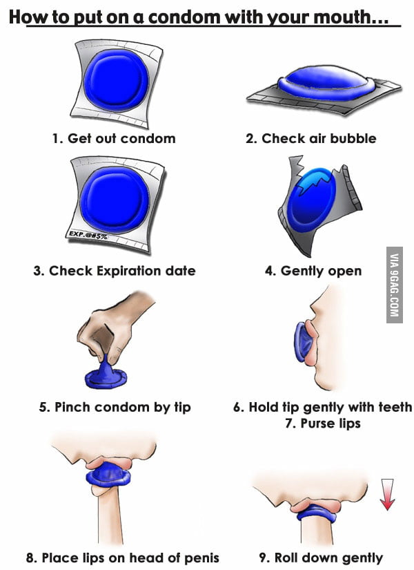Video of how to put a condom