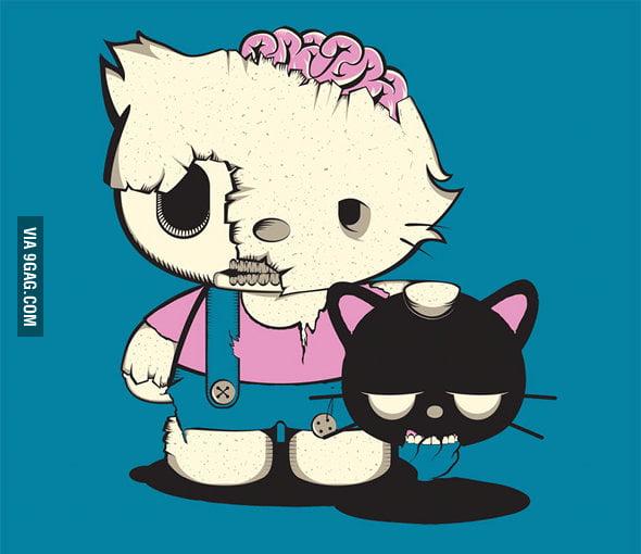 Zombie... KITTY!!