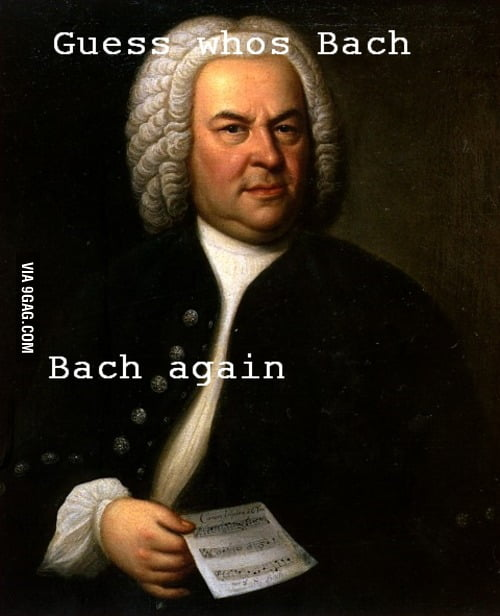 Guess who's Bach