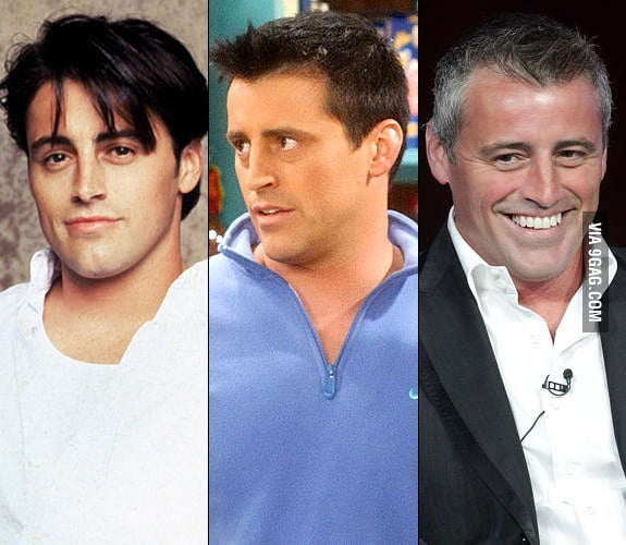 Just Tribbiani getting old