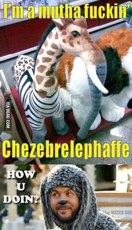 That's a Chezebrelephaffe. [Fixed]