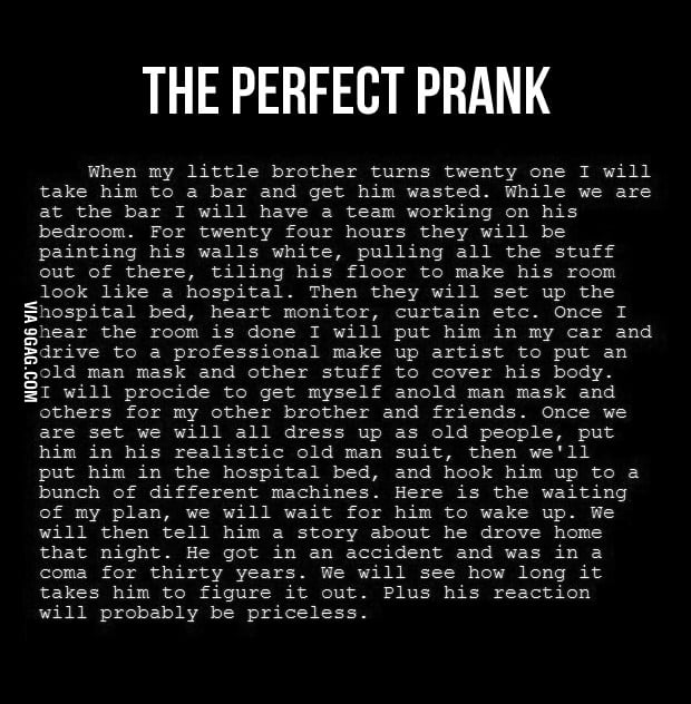 The Perfect Prank