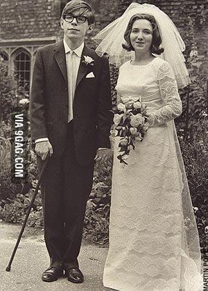 Just Stephen Hawking before disease