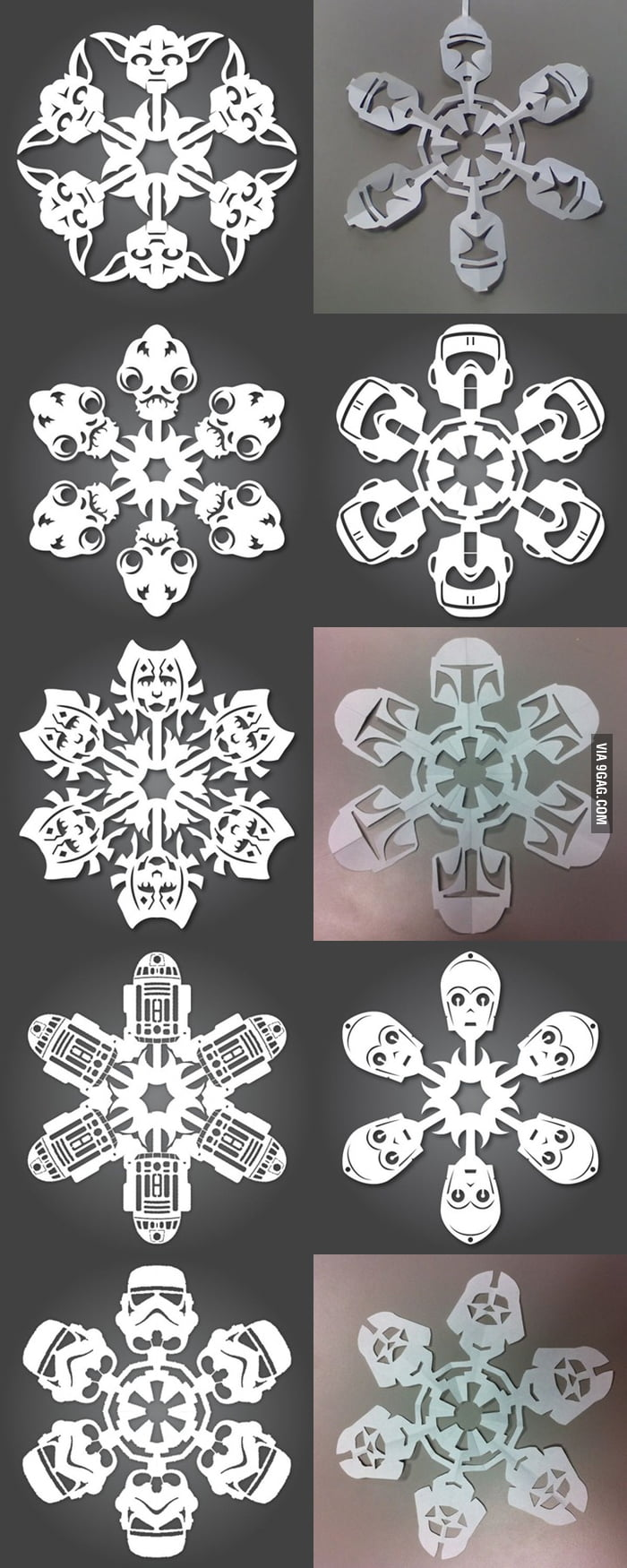 Paper snowflake level: ASIANS!