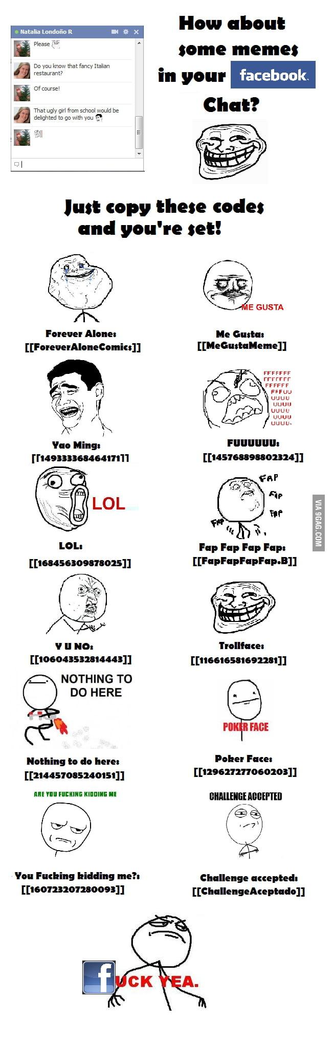 Memes Facebook Chat MEMES FACEBOOK CHAT