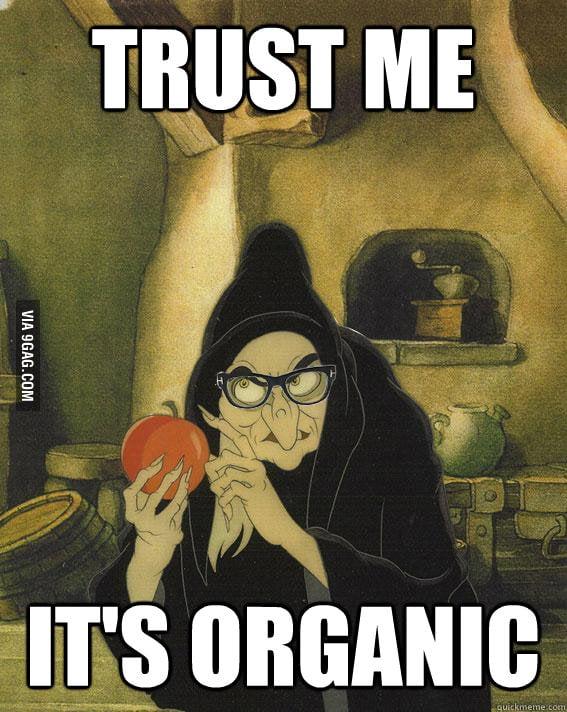 It's organic !