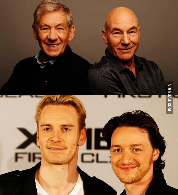 Magneto & Charles Xavier