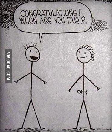 Congratulations! When are you due?
