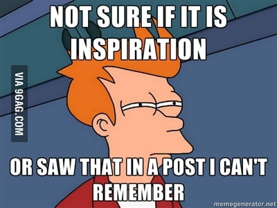 When I have an idea for a post...