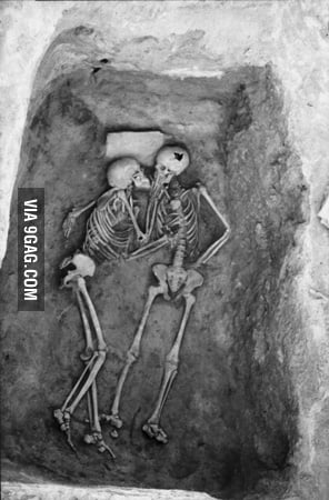 Hasanlu, Iran. 6000 year old kiss. Love RIP