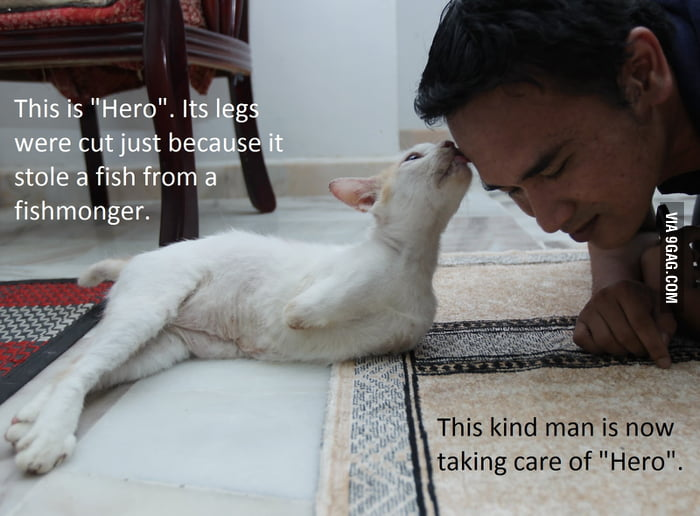 """You are the """"Hero"""", man.."""