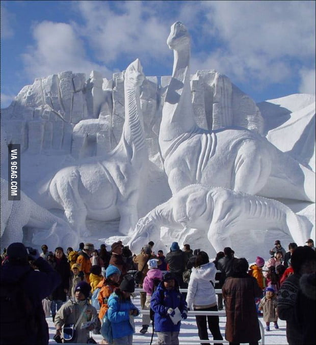 Ice Sculpture lvl: ASIAN