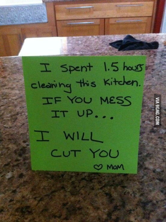 I WILL CUT YOU !