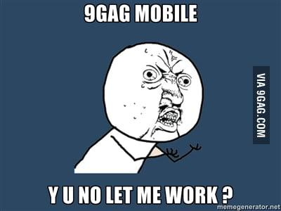 9gag mobile...