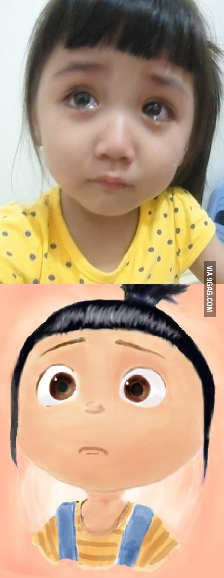 Just a baby girl crying...Wait, what?