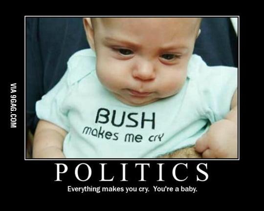Bush makes me cry
