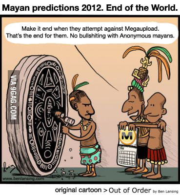 Mayan Calendar Megaupload