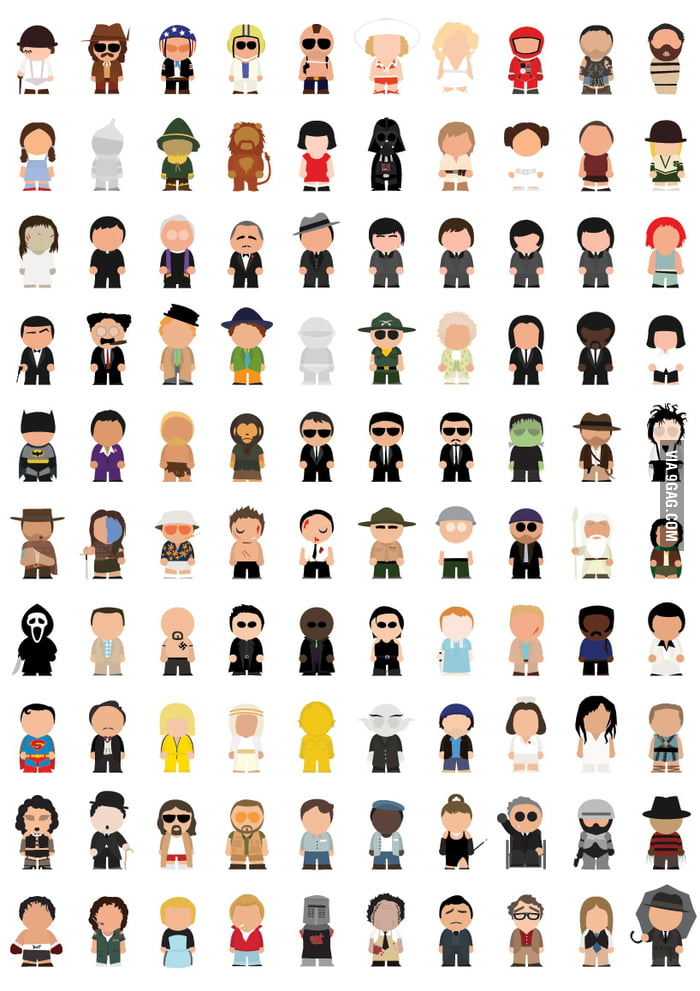 Movie character pictures