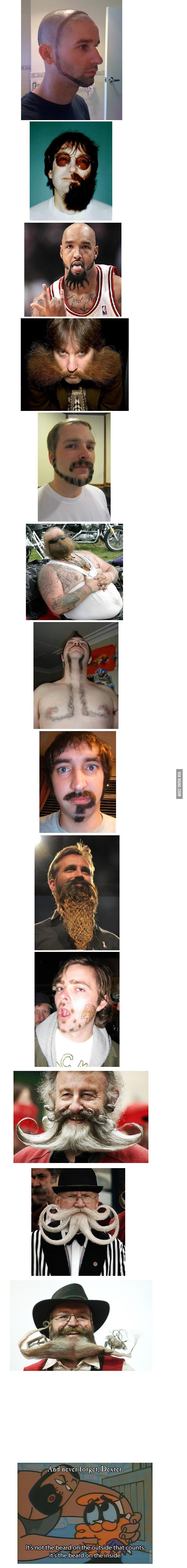 Awesome beards