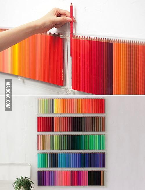 500 colored pen