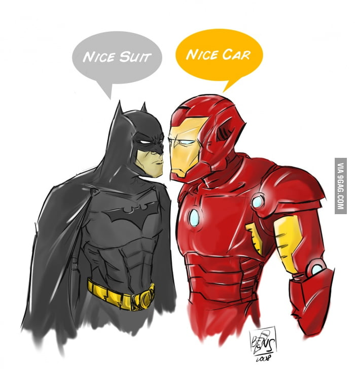 Batman and Ironman