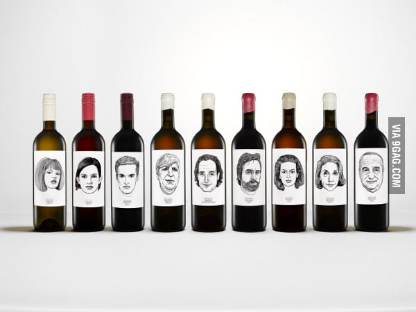 Wine Portraits