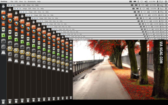 Desktopception