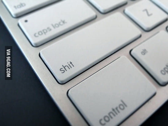 The most used key on a keyboard
