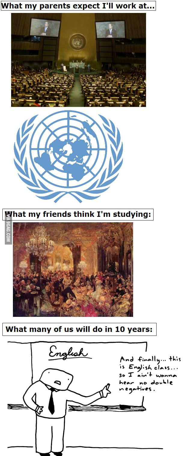 About international relations 39 students 9gag for Architecture students 9gag