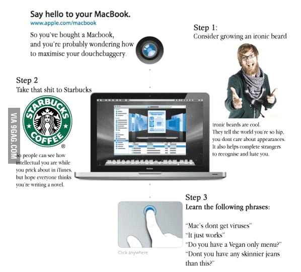 Say hello to your MacBook