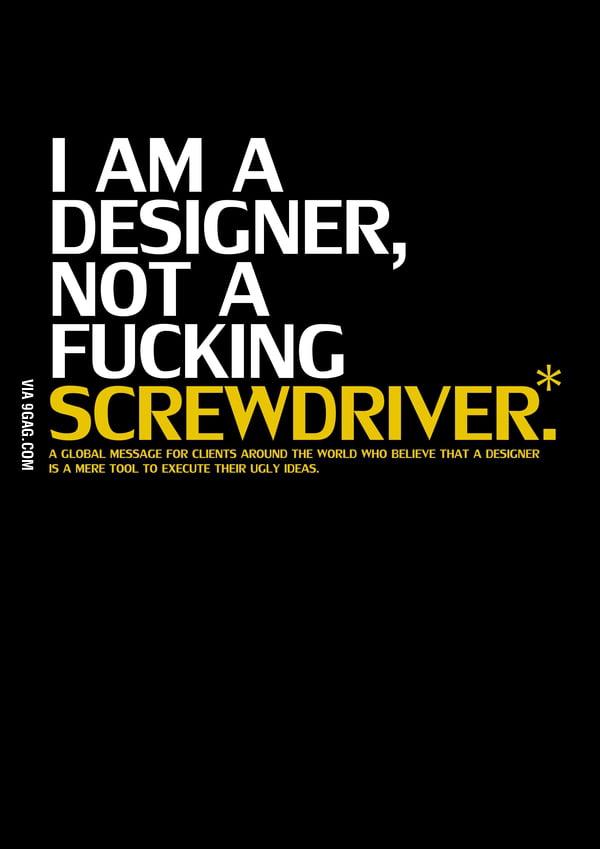 Designer & Screwdriver