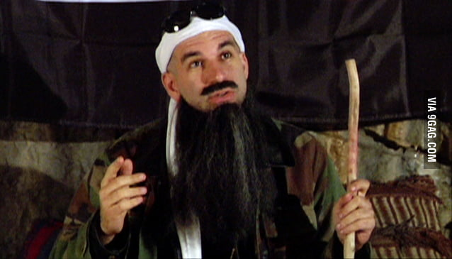 No I'm not Osama Bin Laden, I'm Osama Bin Diesel..it's true.