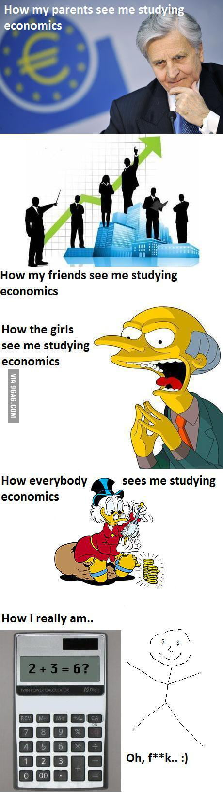 Students of economics 9gag for Architecture students 9gag