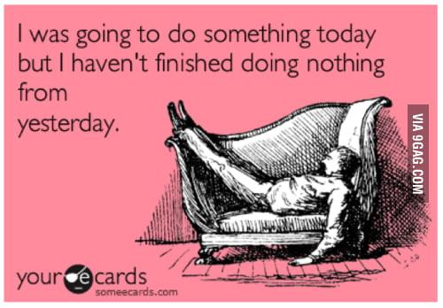 Procrastinators, Unite!