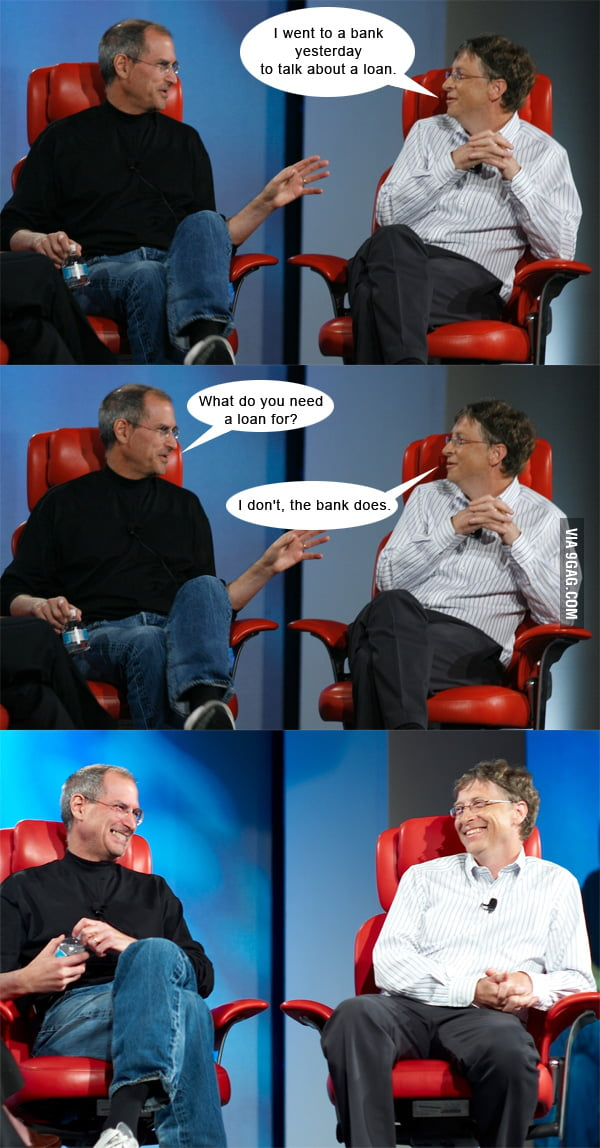Steve Jobs vs. Bill Gates - Loan