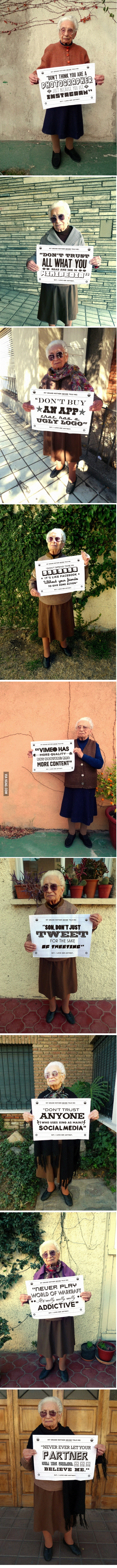 Epic Grandma Advices are Epic