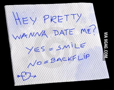 Wanna date me?