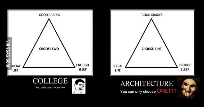 Architecture students know this 9gag for Architecture students 9gag