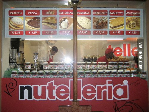 I heard you like Nutella