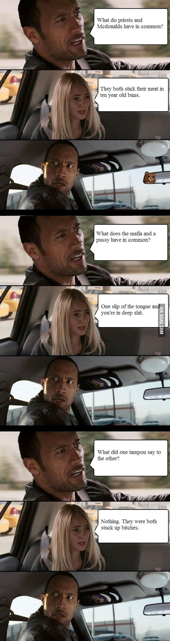 Inappropriate Jokes I