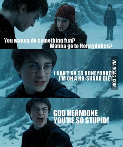 So...Harry Potter is diabetic