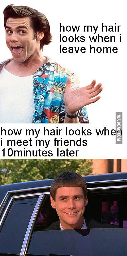 Hair, Y U No stay the same?!