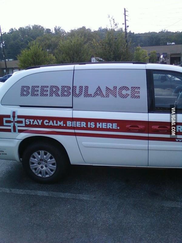 Genius Beerbulance