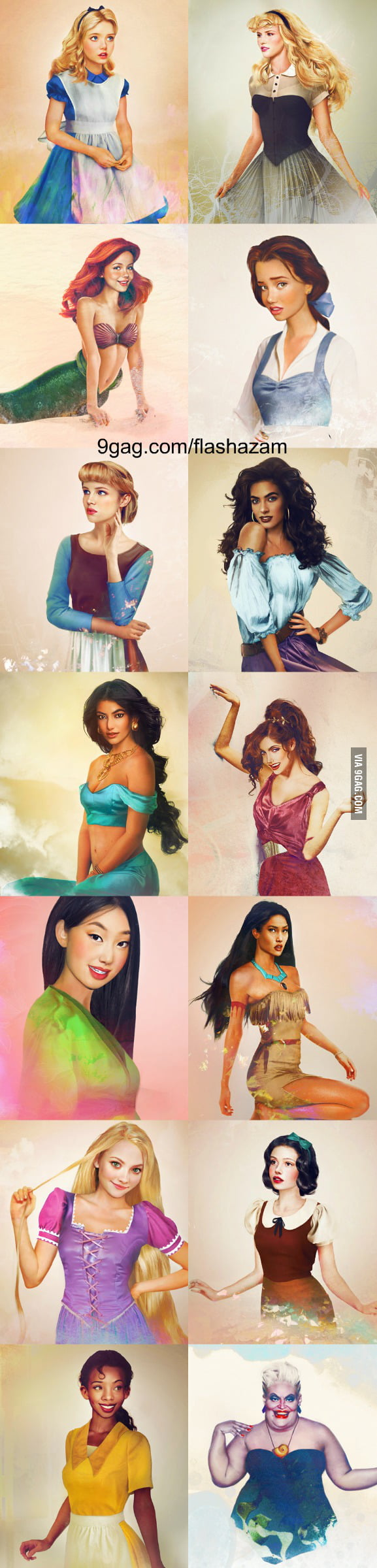 Real Life Disney Characters